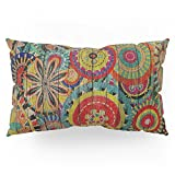 Society6 Kashmir On Wood 01 Pillow Sham King (20'' x 36'') Set of 2