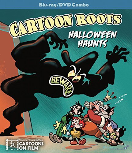 Cartoon Roots: Halloween Haunts (Blu-ray/DVD