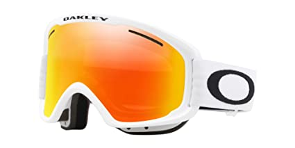 f2b60913f3db2 Oakley O-Frame 2.0 XM Adult Snowmobile Goggles - Matte White Fire Iridium