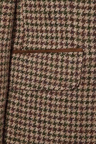 England Tweed Harris Made William Blazer Attire Beige In Country qWvtwB