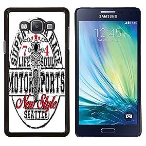 Dragon Case - FOR Samsung Galaxy A7 - When you turned back - Caja protectora de pl??stico duro de la cubierta Dise?¡Ào Slim Fit