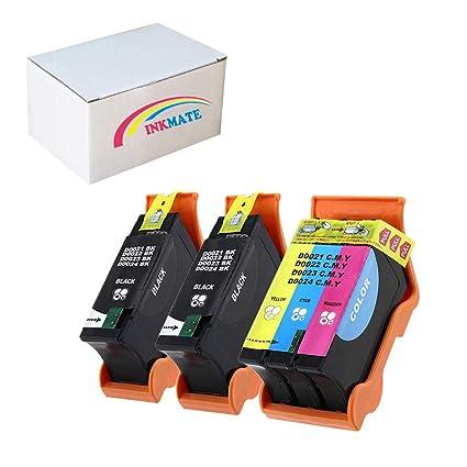 INKMATE - Cartucho de tinta compatible para impresoras Dell ...
