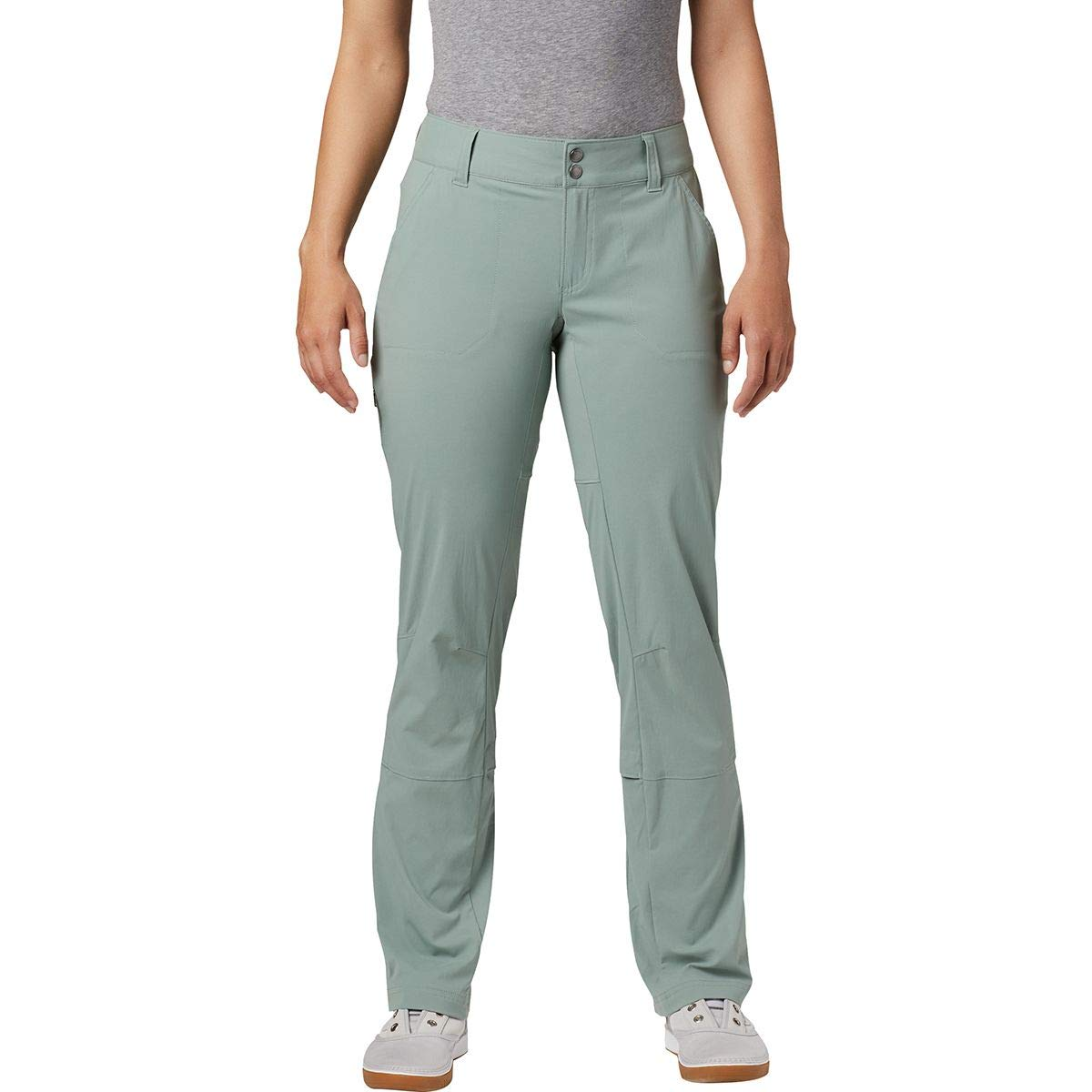 Columbia Women's Standard Saturday Trail Pant, Light Lichen, 12 x Short by Columbia