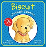 Have fun with Biscuit, in this collection of ten favorite Biscuit stories plus a sticker sheet!      The sweet yellow puppy is here! Featuring ten different stories, Biscuit Storybook Favorites is filled with cuddly moments and big adventures...