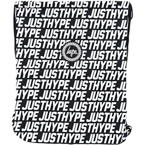 HYPE drawstring just hype - Bolso al hombro de Poliéster para hombre multicolor negro / blanco Talla única