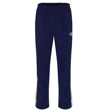 95f21db8359 adidas Originals Mens Firebird Track Pants - Navy - Small: Amazon.co.uk:  Clothing