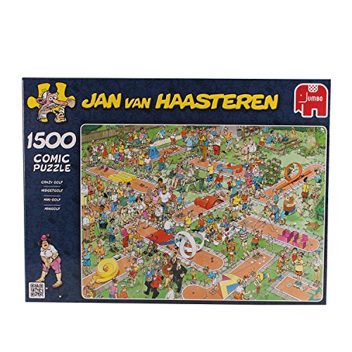 Jan Van Haasteren Crazy Golf Jigsaw Puzzle (1500 Pieces)