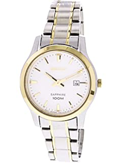 Seiko Womens Sapphire SXDG64 Silver Stainless-Steel Quartz Fashion Watch