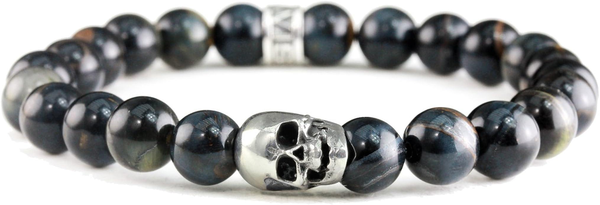 Acheter bracelet tete de mort online 12