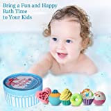 Aofmee Bath Bombs Gift Set, Handmade Bubble and
