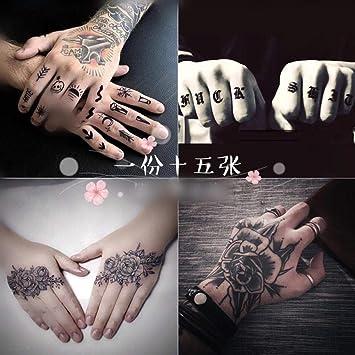 Tatuaje Pegatinas De Tatuaje A Prueba De Agua Para Hombres Y ...