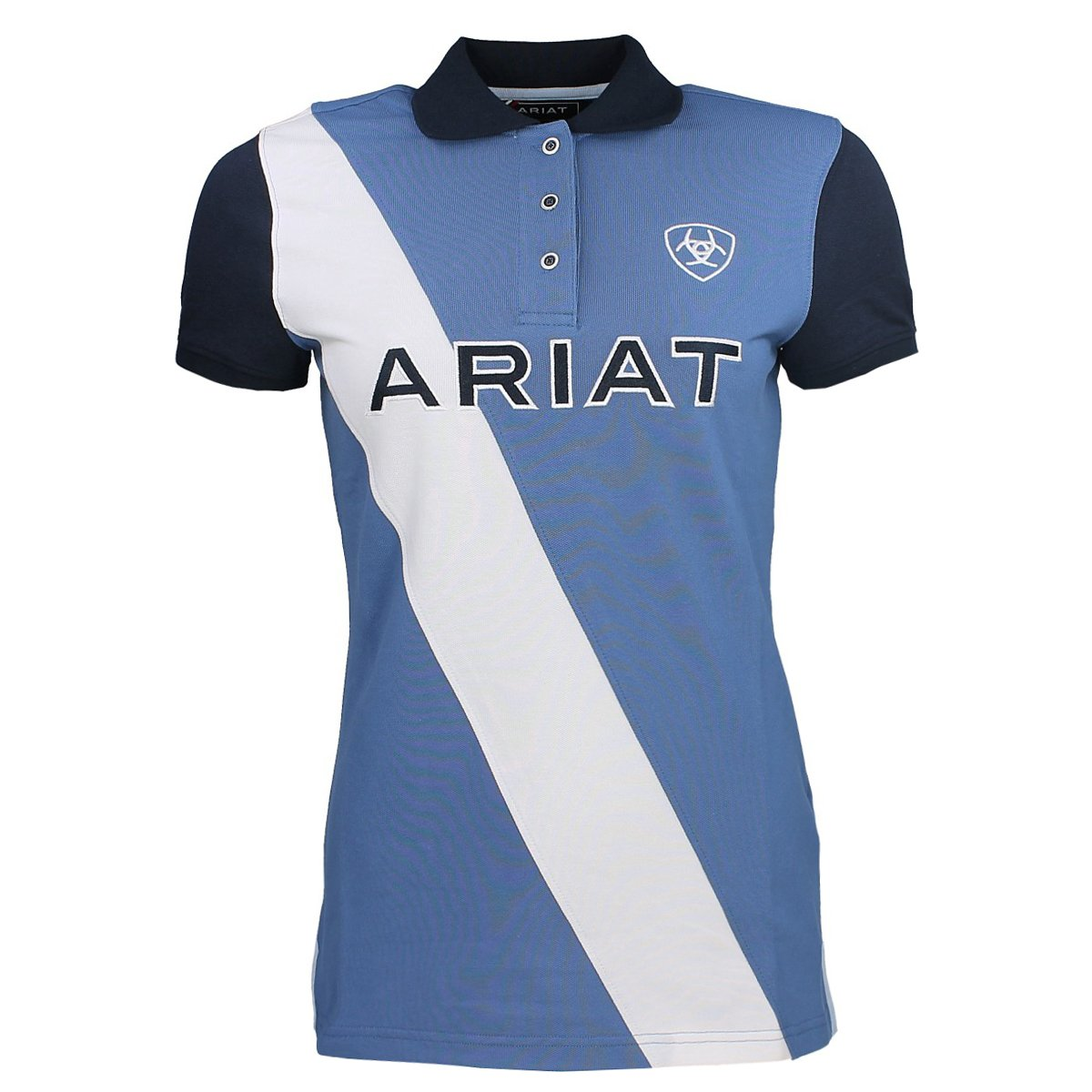Ariat Taryn Womens Polo Shirt - Blue Saga Ariat Europe Ltd
