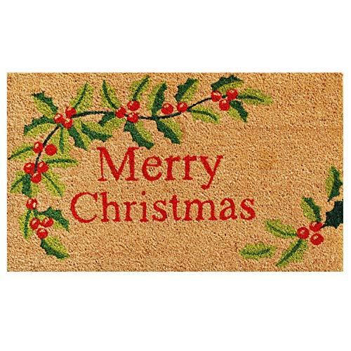 Calloway Mills 121022436 Merry Christmas Doormat, 24