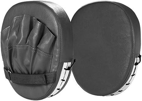 Everlast Original Boxing Punching Striking Kicking Focus Pads Paddles Mitt 2 Pcs