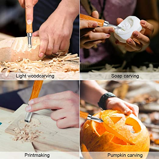 doppelseitige Verwendung gute Wahl f/ür Handwerk schnitzen professionelle Menschen oder Amateur Ton Sculpting Tools Set Holzgriff Bewinner 14 PCS DIY Keramik schnitzen Tools Kit