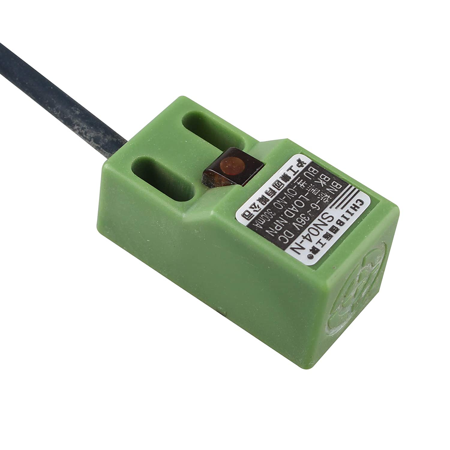 DC 6-36V Auto Leveling Sensor Green SN04-N Auto Self-Leveling Heatbed Position Adjustment Inductive Proximity Sensor with Screws for 3D Printer Anet A8 RepRap Prusa DIY i3