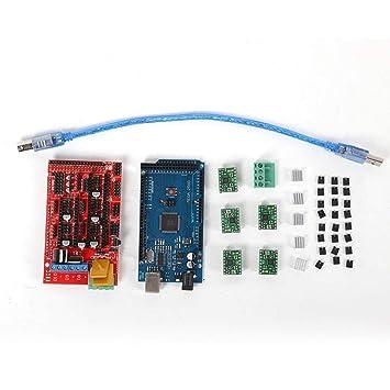 Wendry Tablero de Control de la Impresora 3D, RAMPAS 1.4 Tablero ...