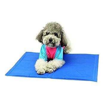 Wenosda Pet Cooling Mat, Perros/Gatos Cold Pad para el Piso, Asientos de