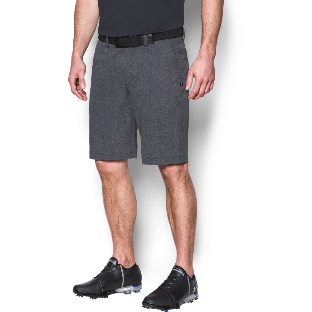 Under Armour Men's Match Play Vented Shorts,Black (001)/Black, 32
