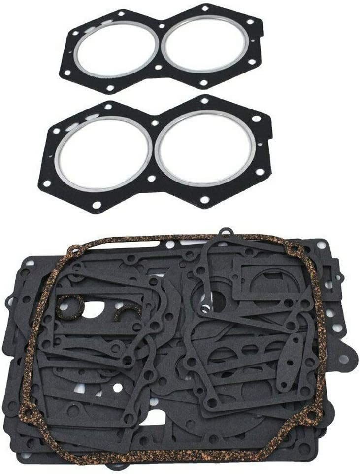 New Gasket Kit Set For Johnson//Evinrude V4 Crossflow 1977-1992 Replace # 77398 389556 39080 391300 439085