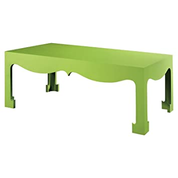 Agra Global Bazaar Lime Lacquered Coffee Table