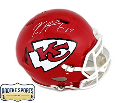 d2114f0e4 Kareem Hunt Autographed Signed Kansas City Chiefs Authentic Speed Helmet