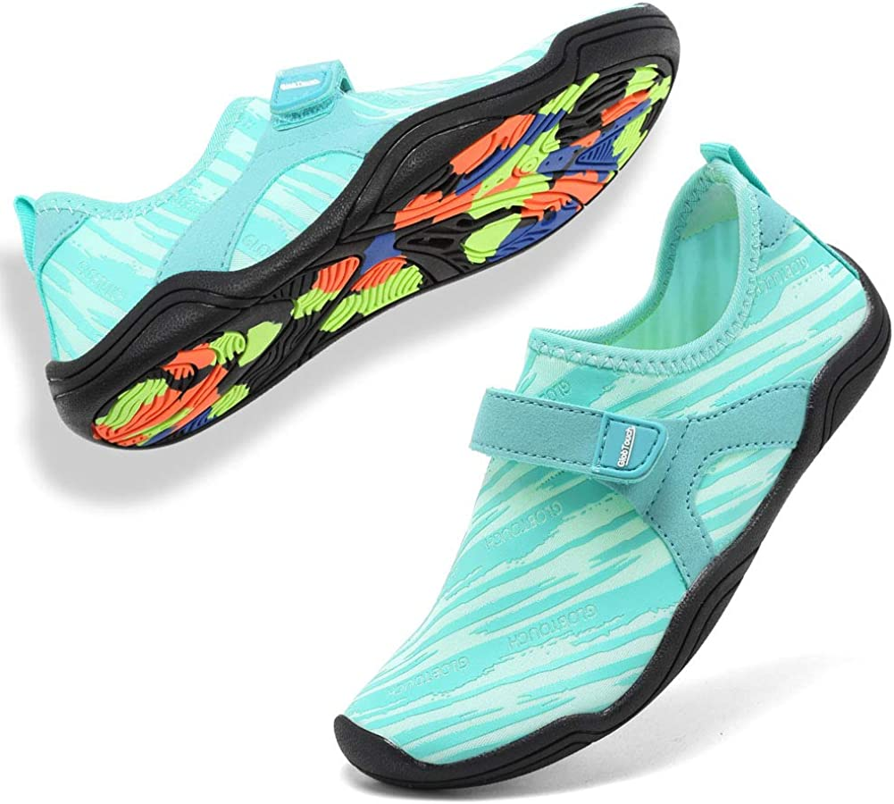 GLOBTOUCH Boy and Girls Athletic Water Shoes Quick