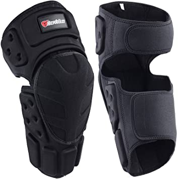 Motorcycle Racing Motocross Knee Pads Protector Guards Protective Gear Black B