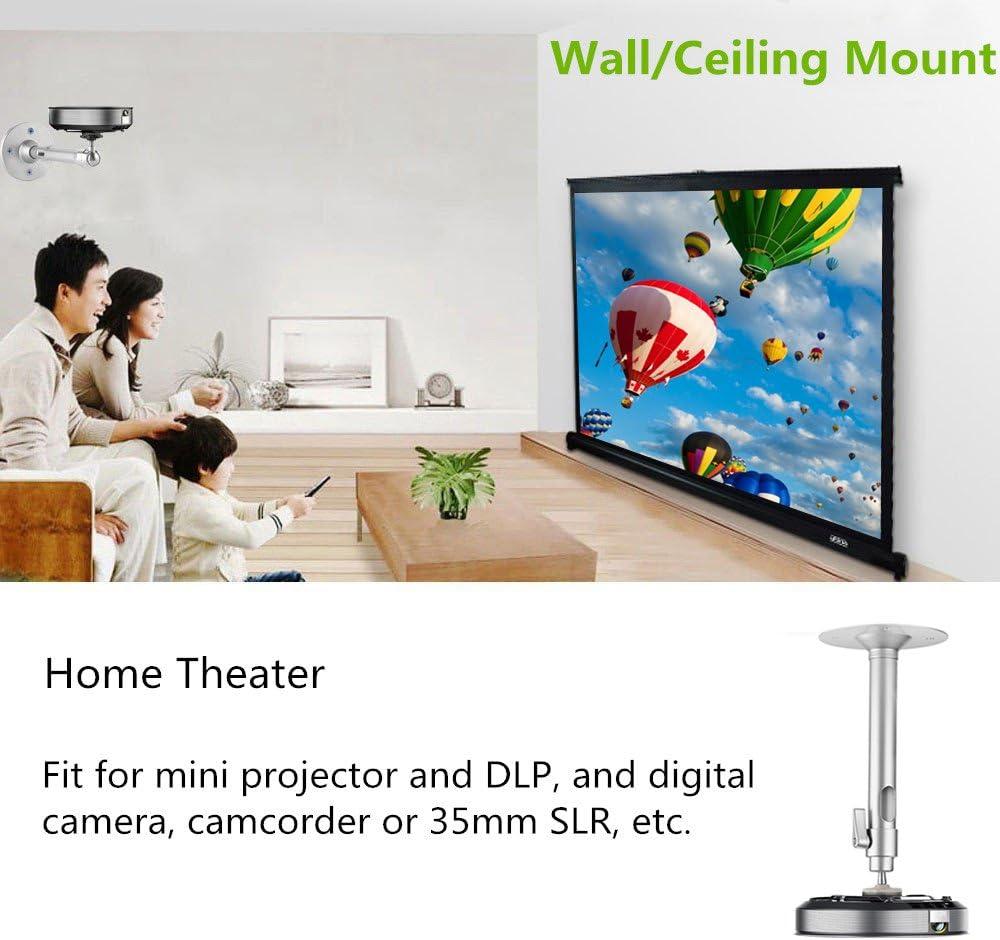 Zice Universal soporte de techo para de pared para Mini proyector ...