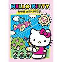 Hello Kitty Paint with Water Activity Book-Sky