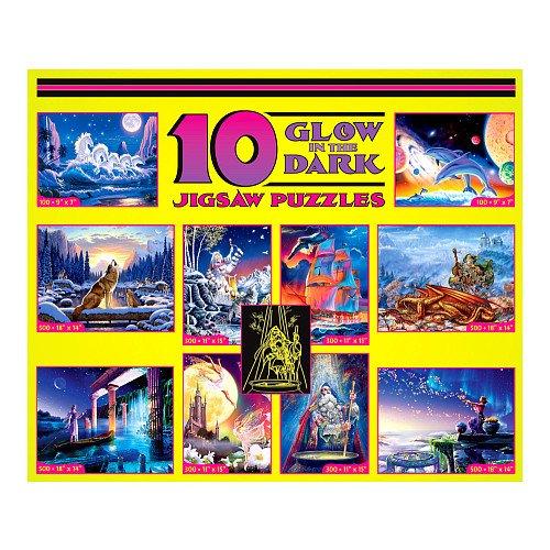 (10 GLOW IN THE DARK Jigsaw Puzzles)