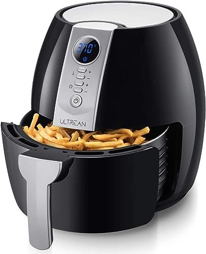 Ultrean-Air-Fryer,-4.2-Quart-(4-Liter)-Electric-Hot-Air-Fryers-Oven-Oilless-Cooker
