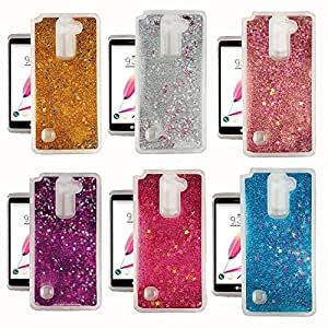 WHOLESALE 20Pc Lot- LG Stylo 2 Plus Liquid Glitter and Stars TPU Case (20 PC Lot)
