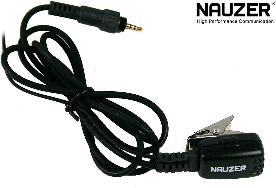 c/âble Fris/és Noir Haute Gamme pour Motorola CLP 446/ pin29-clp nauzer Micro Casque Cache-Oreilles