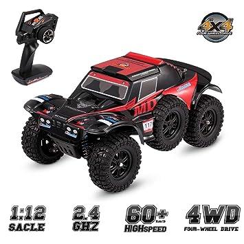 HHtoy 1:12 2.4G RC Car 4WD Control Remoto Alta Velocidad ...