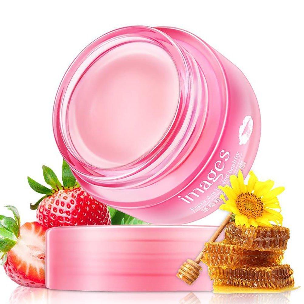 Lèvre Masque, KISSION Réparation de La Membrane de la Lèvre Hydratante Anti Dry et hydratante anti-âge Réduire Fine Line Rides Creases