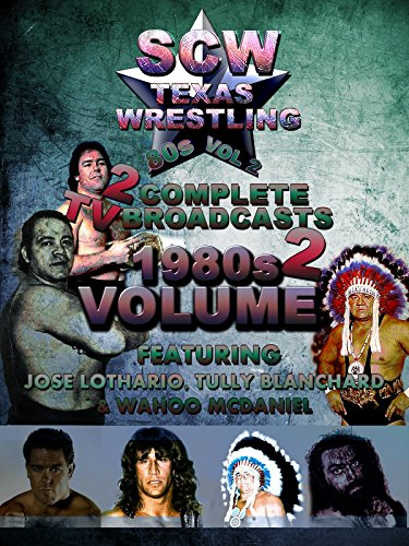 1980s SCW Wrestling 2 Complete TV Broadcasts Vol 2 for sale  Delivered anywhere in USA
