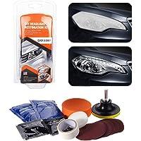 belupai Koplamp-restauratieset voor koplampen, reparaties, mat koplampglas, restauratiekit geschikt voor auto's…
