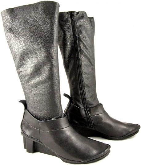 Trippen, Stivali Donna Nero Black, Nero (Black), 40: Amazon