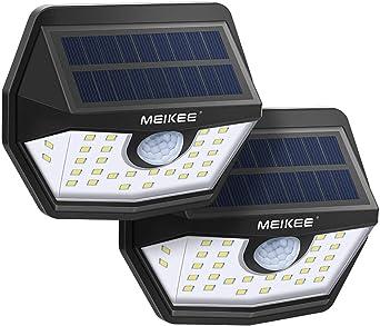 30LED Lampe Solaire PIR Capteur Mouvement Projecteur Jardin Extérieur Eclairage
