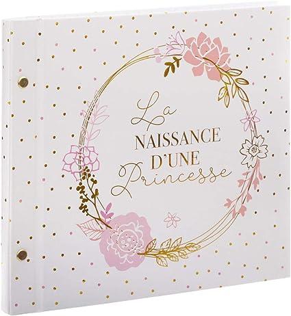 Web2o Livre De Naissance D Une Princesse Rose 48 Pages Amazon Fr Bebes Puericulture