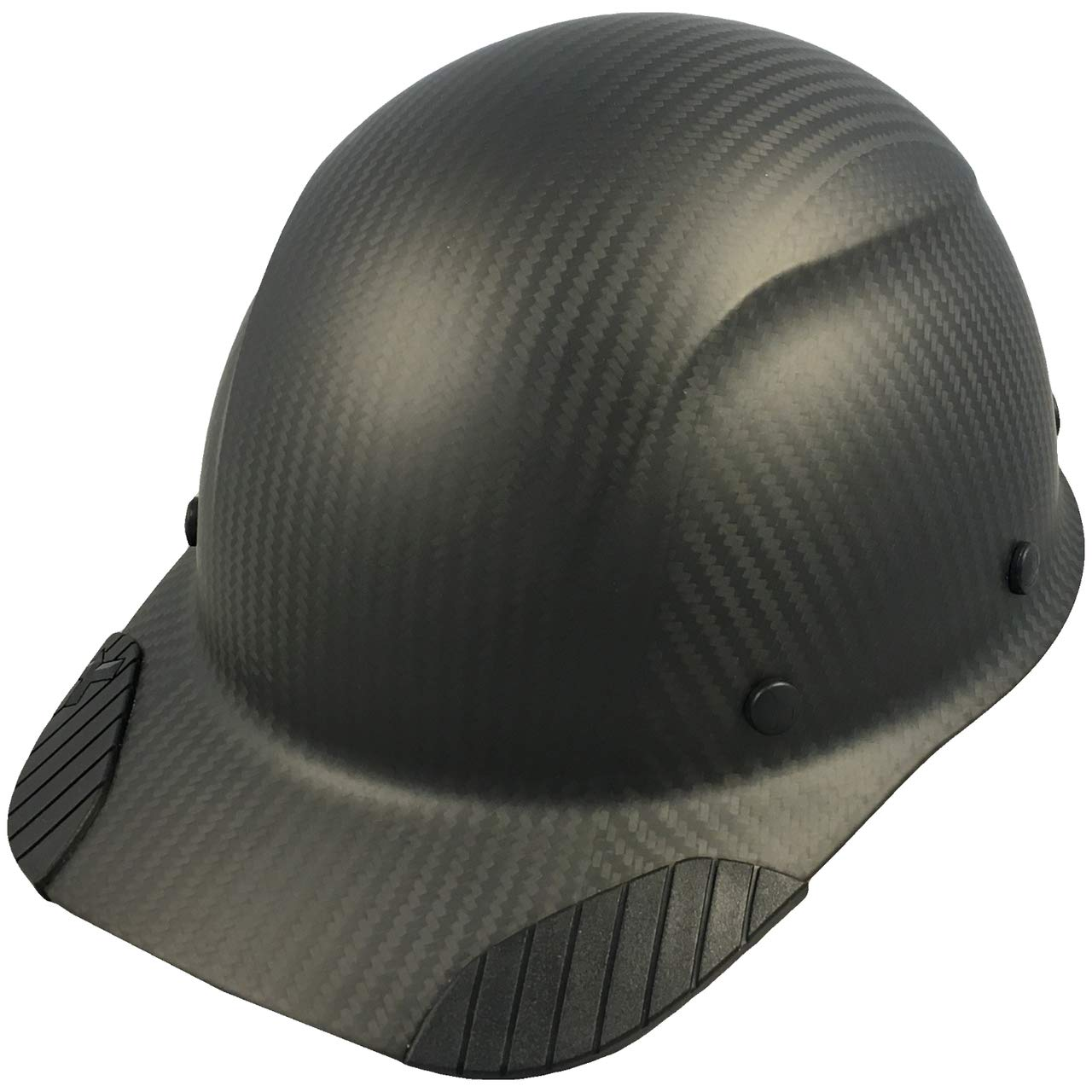 DAX Actual Carbon Fiber Cap Style Hard Hat - Matte Black by DAX (Image #1)