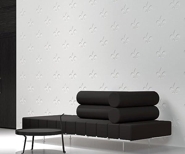 HomeArtDecor | Fleur De Lis 3D Wall Panels | 3D Tiles | High Quality  Polyvinyl Chloride