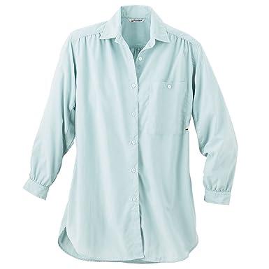 9ca8fa0ab37 Solumbra Women's Big Shirt - 100+ SPF Sun Protective at Amazon ...