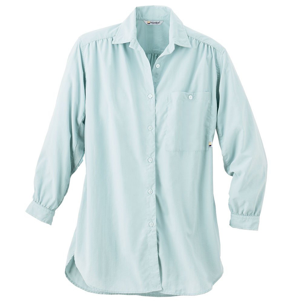 Solumbra Women's Big Shirt S Mist
