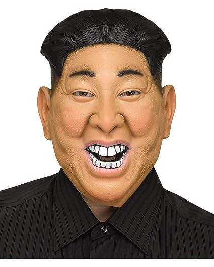 Horror-Shop Kim Jong-Un Maske: Amazon.es: Juguetes y juegos