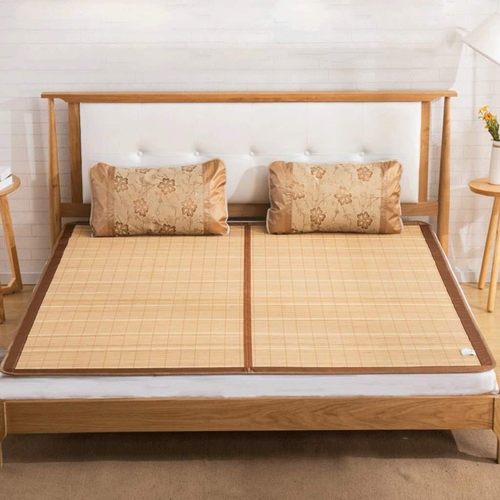 DUAN GUO FENG DGF Bettwäsche Strohmatte Sommer Schlafmatten Bett-Matte Doppelseitige verfügbar Zusammenklappbar Home Schlafzimmer Student Dormitory,