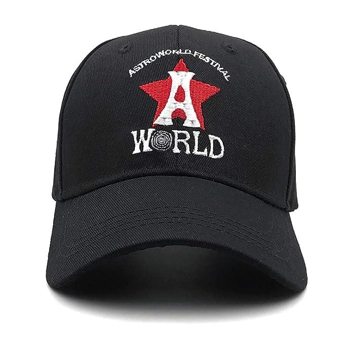 ee0754b2f2e ASTROWORLD Baseball Caps Travis Scott Unisex Astroworld Dad Hat Cap Man  Women Summer Hat New 2019
