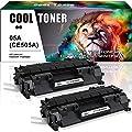 Cool Toner 2-Pack Compatible Laser Jet Black CE 505A CE505A 05A Toner Cartridge for Laserjet P2035 P2055DN 2035 P2035N P2055D P2055 2035N Printer Toner Cartridge