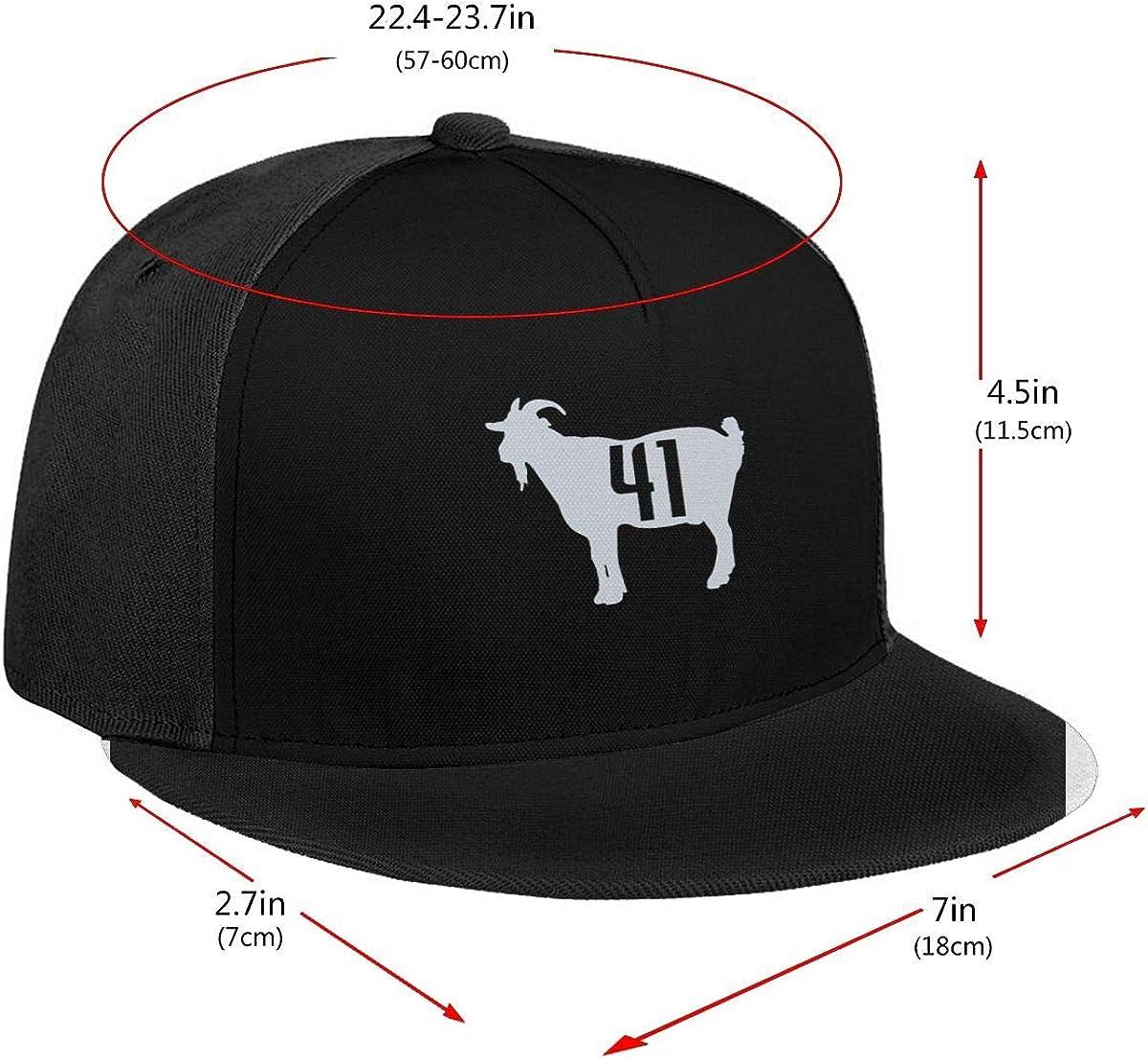 DeniCar Unisex Adjustable Baseball Caps Dirk-Nowitzki Goat 41 Skull Cap Black